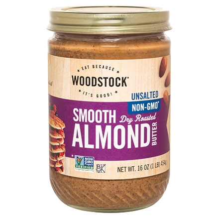 Almond Butter, Smooth, Unsalted