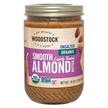 Organic Lightly Toasted Almond Butter