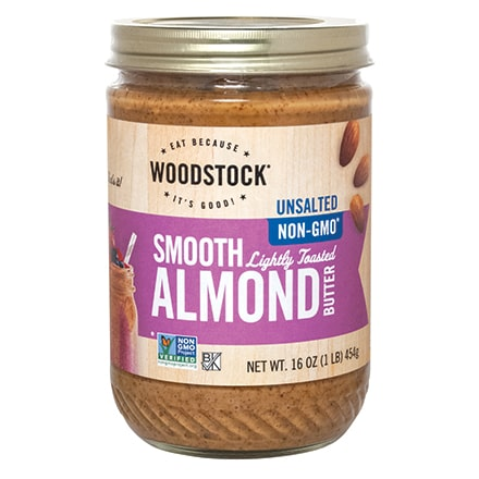 Lightly Toasted Almond Butter, Unsalted