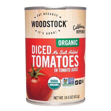Organic Diced Tomatoes No Salt