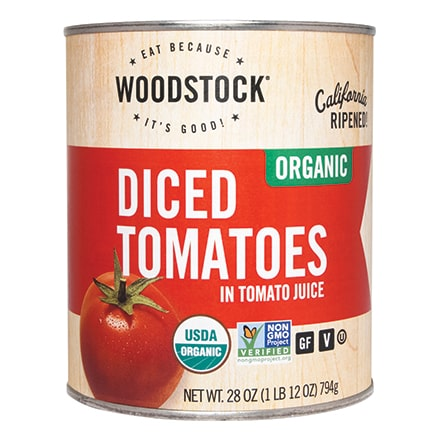 Organic Diced Tomatoes Original