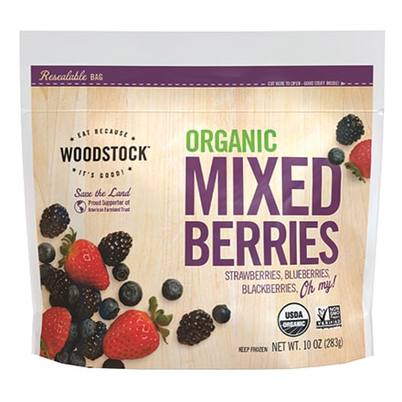 Organic Frozen Mixed Berries