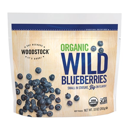 Organic Frozen Wild Blueberries