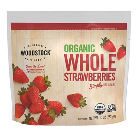 Organic Frozen Whole Strawberries