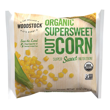 Organic Frozen Supersweet Corn