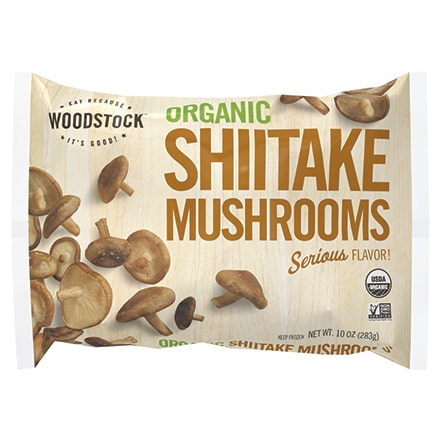 Organic Frozen Shiitake Mushrooms