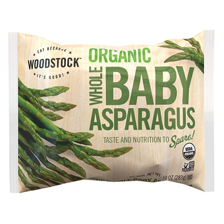 Organic Frozen Whole Baby Asparagus