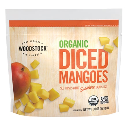 Organic Frozen Mangoes