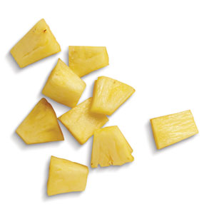 Organic Frozen Pineapple Chunks, 5 lb.