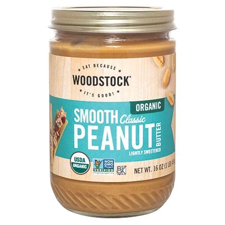 Organic Classic Peanut Butter, Smooth