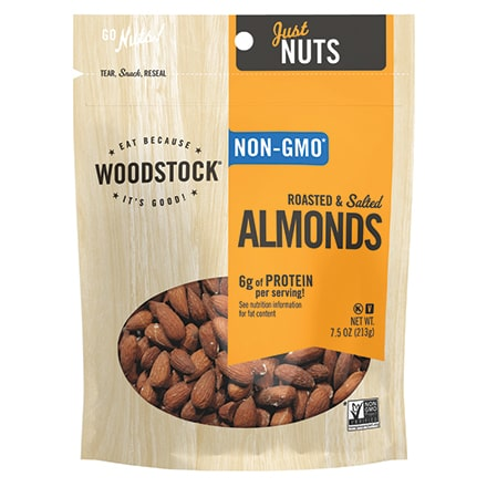 Almonds, Roasted & Salted