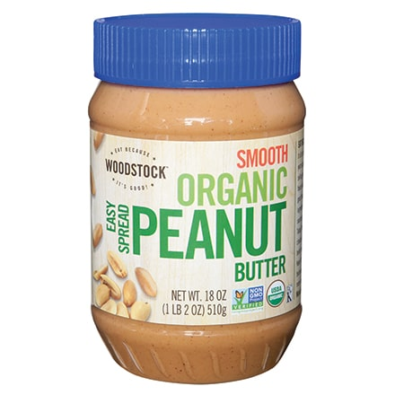 Organic Easy Spread Peanut Butter, Smooth