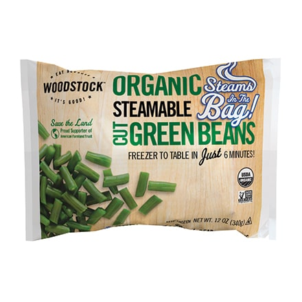 Organic Green Beans, Steamable