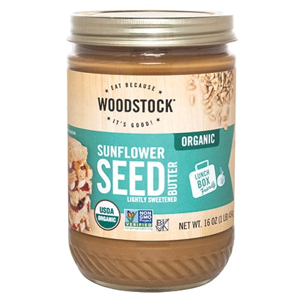 Organic Sunflower Butter, Salted/Lightly Sweetened