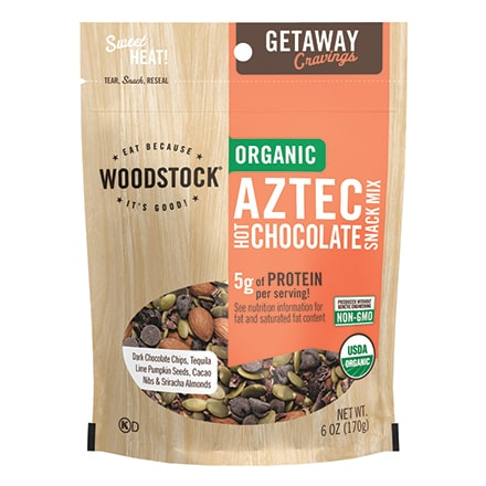 Organic Aztec Hot Chocolate Snack Mix
