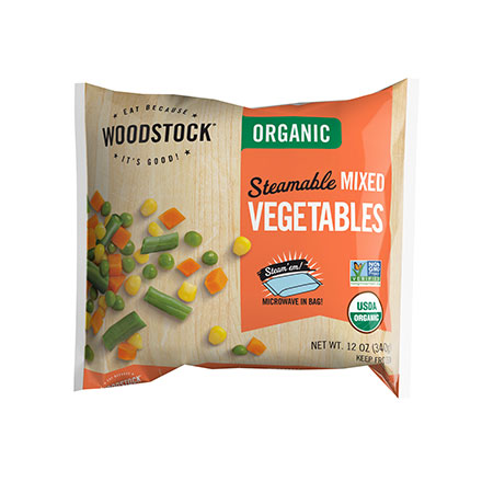 Organic Mixed Vegetables, Steamable