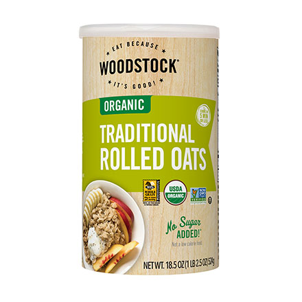 Organic Traditional Rolled Oatmeal