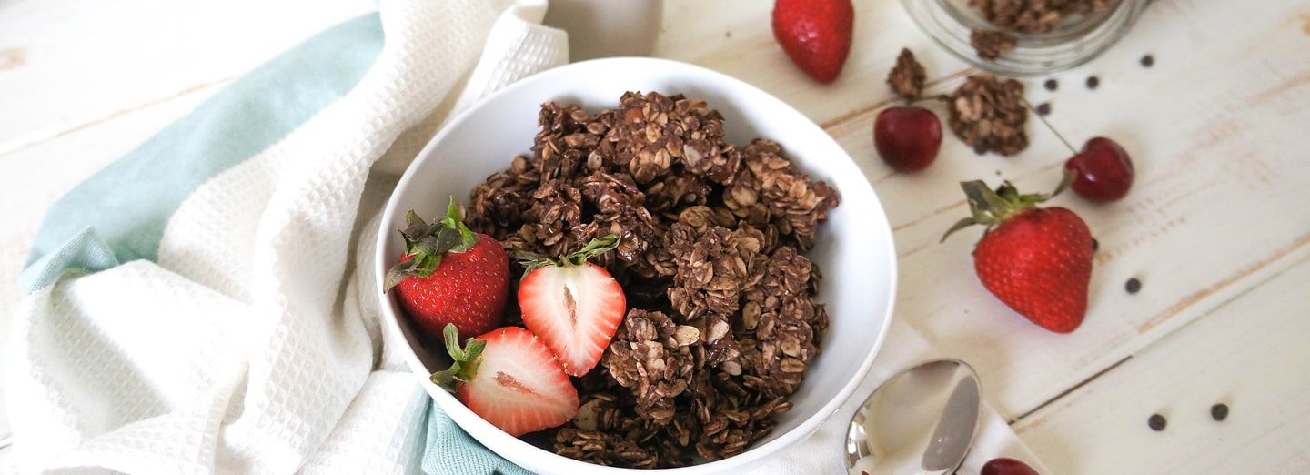 Dark Chocolate Protein Granola